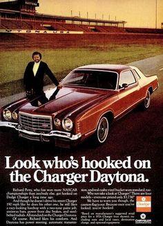 1976 Dodge Charger Daytona w/Richard Petty