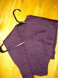 How to hang sweaters in your closet!