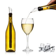 Stainless Steel Ice Wine Chiller Stick With Wine Pourer Wine Cooling Stick Cooler Beer Beverage Frozen Stick Ice Cooler Bar Tools Feature: stainless steel wine chiller stick:wine chiller+wine pourer. Useful wine accessory to keep wine chille Wine Coolers Drinks, Wine Chillers, Wine Pourer, Wine Temperature, Pouring Wine, Ice Cooler, Bottle Stoppers, Bottle Labels, Best Beer
