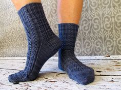 Tyler by Rachel Coopey #knit #socks