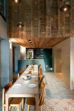 Capanna Pizzeria  Trattoria | Athens #restaurantdesign