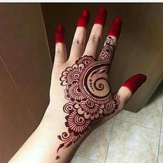 Top 7 back hand Mehndi designs - Henna - Hand Henna Designs Henna Hand Designs, Eid Mehndi Designs, Mehndi Designs Finger, Mehndi Designs For Girls, Mehndi Designs For Beginners, Mehndi Design Pictures, Mehndi Designs For Fingers, Latest Mehndi Designs, Henna Tattoo Designs