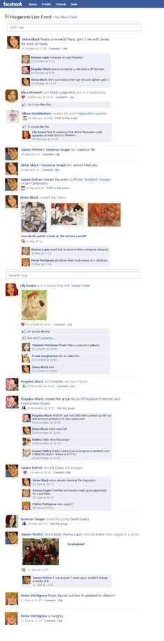 Marauders Facebook Timeline 3 by julvett.deviantart.com on @deviantART