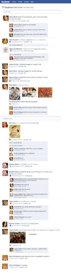 Marauders Facebook Timeline 3 by julvett.deviantart.com on @deviantART