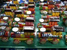 Candy Trains I made