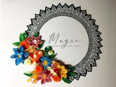 #quilling & #mandala   #paperflowers #color #magic #mandalaart #quillingart quillingflowers Mandala Art, School Projects, Craft Projects, Love Art, My Love, Artwork, How To Make, Crafts, Handmade