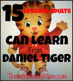 Do you know Daniel Tiger? If not, you should. A creation of Mister Rogers, the lessons he teaches are not just for kids. Here are the timeless lessons that can carry us ALL through life.