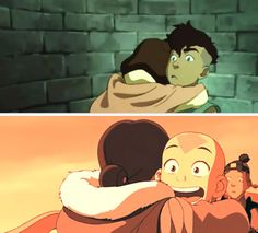 Legend of Korra/ Avatar the Last Airbender: young love <3
