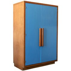 Armoire by Le Corbusier | From a unique collection of antique and modern wardrobes and armoires at http://www.1stdibs.com/furniture/storage-case-pieces/wardrobes-armoires/