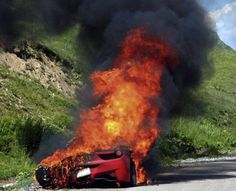 Funny thing is..is that this car is known for catching on fire