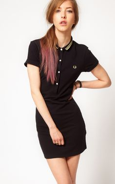 T shirt kleid fred perry