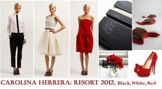 red grey and black wedding