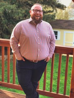 Thomas Dean - Chubsters are fond of Big and Tall Men's fashion clothes - Vêtements grande taille homme - Plus Size Men - Mens Plus Size Fashion, Large Men Fashion, Best Mens Fashion, Big And Tall Style, Mens Big And Tall, Chubby Men, Plus Size Men, Big Guys, Mens Clothing Styles
