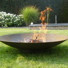 Corten Steel Fire Bowl | The Pot Company. Garden Plant Pots | Garden Planters | Planters | Terracotta Pots | Large Plant Pots