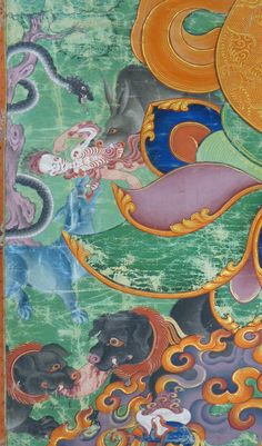 Inscription: April Translation of back of painting done by Dorje Yudron Yuthok: 'My humble salutations to the most loving, compassionate of all times - the past - present and the future Metropolitan Museum, Tibet, Art History, Paintings, Collection, Comic, Paint, Painting Art, Painting