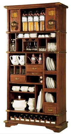 Old Tea Cabinet. I could organize and display my collections of tea and accessories.