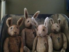 The hares are coming....