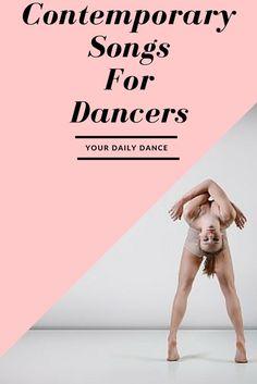 Contemporary Dance Songs - A playlist for dancers Dance Moms, Songs For Dance, Dance Playlist, Dance Teacher, Dance Class, Dance Studio, Dance Hip Hop, Jazz, Contemporary Dance Songs