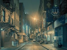 Eerie Film Noir Scenes Captured on the Streets of NYC's Chinatown | Raw File | WIRED