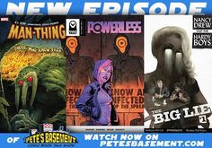 It's Pete and Ramon at the roundtable this week for a week of scathing reviews of this week's comics a brief discussion of Logan and a review of Iron Fist's reviews! Should they be believed? Danny Rand is a white guy and why that's okay. RL Stine's Man-Thing hits shelves but did it give the boys goosebumps? Artsy Pete takes center stage to talk about Grass King's watercolors and another offering from Vault Comics gets top marks in the form of Powerless. And there's a lot more in store for…