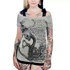 Shirt skeleton
