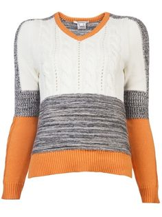 Carven Patchwork Sweater