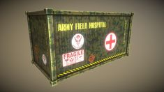 Army Field Hospital Cargo is very low poly model for your games. - Army Field Hospital Cargo - Buy Royalty Free model by dexsoft-games ( Low Poly Models, Royalty, Army, 3d, Games, Board, Royals, Gi Joe, Military