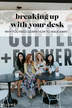 breaking up with your desk - why you need to learn how to walk away with Taylor Griggs of Sand and Sequins as featured in Belong Magazine ISSUE 06 - female entrepreneur, creative, lady boss, women in business