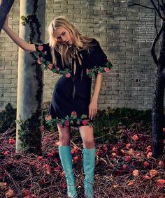 The Alchemist: Chloë Sevigny by Drew Jarrett for Porter Magazine Summer 2016 - Gucci Pre-Fall 2016