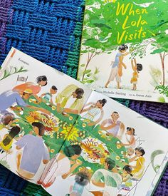 In an evocative picture book brimming with the scents, tastes, and traditions that define a young girl's summer with her grandmother, debut author Michelle Sterling and illustrator Aaron Asis come together to celebrate the gentle bonds of familial love that span oceans and generations. 📸 @thetinyactivists
