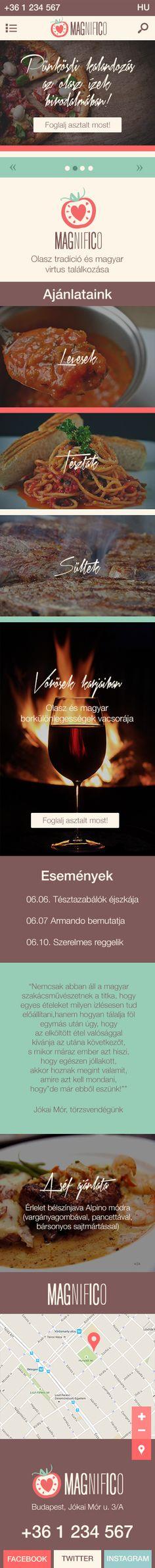 Morell Eszter - Magnifico mobil terv
