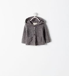 HOODED CARDIGAN-Cardigans and Sweaters-MINI | ZARA United Kingdom