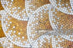 Mosaic Tiles in old house. Found in Bayonne, France. Nice background. Use it horizontally or vertically.