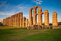 Mérida. Roman acueduct (Spain).