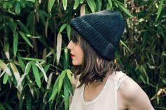 tricoter un bonnet / patron bonnet à côtes
