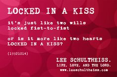 LOCKED IN A KISS by LEE SCHULTHEISS. (19921014) Book Of Life, Kiss, Lord, Books, Movie Posters, Livros, Libros, Film Poster, A Kiss