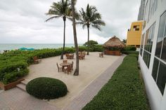 Beachfront BBQ area...