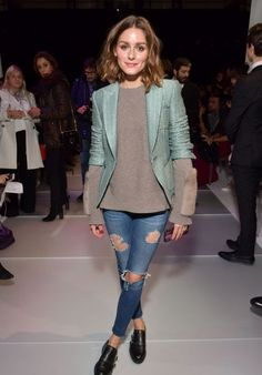 Olivia Palermo – Giorgio Armani Prive Show Spring Summer 2018 at Paris Fashion Week Olivia Palermo Style, Outfits and Clothes. Olivia Palermo Outfit, Estilo Olivia Palermo, Olivia Palermo Lookbook, Olivia Palermo Style, Giorgio Armani, Milan Fashion Weeks, Paris Fashion, Women's Fashion, Armani Prive