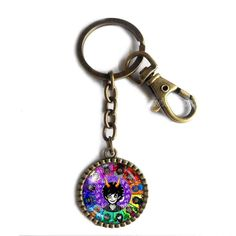 Homestuck Keychain Key Chain Cute Keyring Car Fashion Key Ring God Mandala Art Pendant Cosplay Taurus Leo. Size:L8X3CM Pendant Size: 2.9CM Colors: Ancient bronze Material:Alloy+Glass.