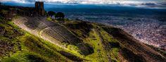 برگاما به خاطر خرابه های باستان شناسی جالب، شهر باستانی رومی پرگامون و مرکز شگفت انگیز آن برای پیاده روی مشهور است. بازدید از برگاما را از دست ندهید.
