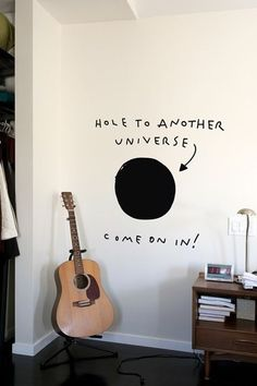 Need this. Wouldn't it be really cool if it lead to another room where the walls were painted like a galaxy?