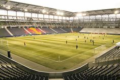 Wals-Siezenheim-Stadion , Salzburg. A stadium used at Euro 2008.
