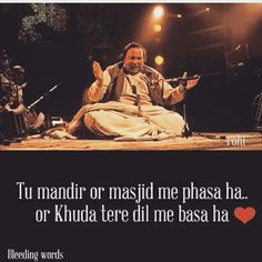 You're caged in temple and mosque, but God is in you ! Nfak Quotes, Sufi Quotes, Muslim Quotes, Photo Quotes, People Quotes, Poetry Quotes, Hindi Quotes, Quotations, Islamic Quotes
