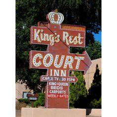 King's Rest Court Motel - Santa Fe, NM by Mr. Tiny for thewackytacky.blogspot.com