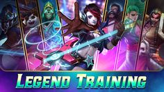 Win a Arena or Ranked Match with the required Legend to earn 100 Arena Medals! Moba Legends, Mobile Game, Joker, Anime, Fictional Characters, The Joker, Cartoon Movies, Anime Music, Fantasy Characters