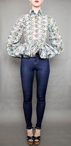 NEW The Naomi II Top Choose Sleeve Style by DemestiksNewYork
