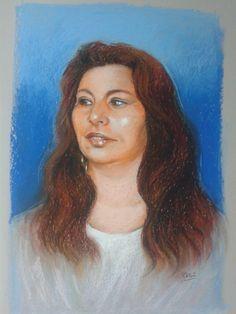 retrato al pastel 2