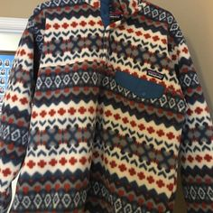 Patagonia Synchilla Snap-T Pullover - Men's Large. Men's L Patagonia Synchilla Snap-T Pullover. Cool design and rarely worn. In excellent condition. Patagonia Jackets & Coats Utility Jackets