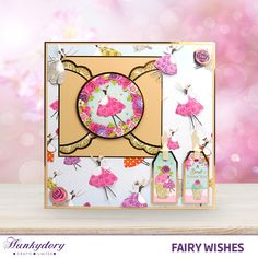 Fairy Wishes - Hunkydory   Hunkydory Crafts