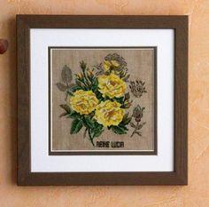 Etude aux roses de Véronique Enginger : Reine Lucia
